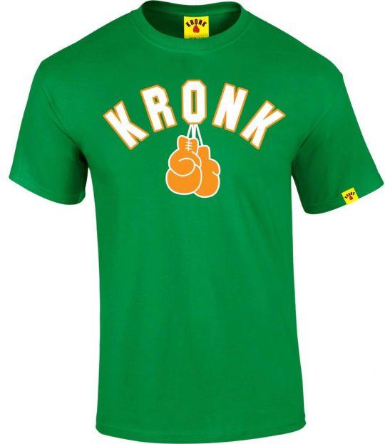 Kronk Gloves T-Shirt - Irish Green