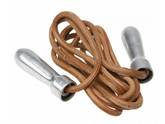 Pro Box Metal Handle Leather Jump Rope