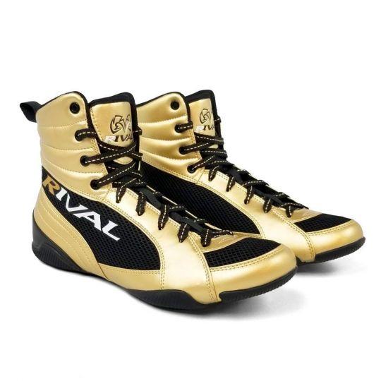 Rival RSX Guerrero Boxing Boots - Gold