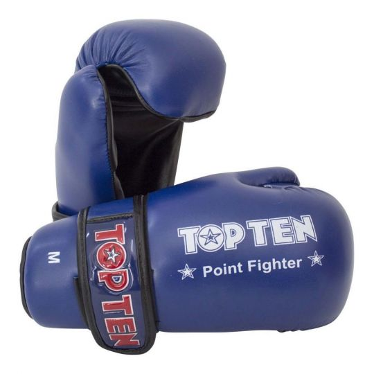 Top Ten Pointfighter Gloves - Blue - Small
