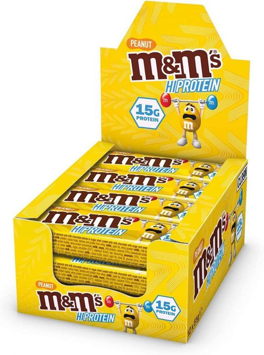 M&M Hi-Protein Bar - Peanut