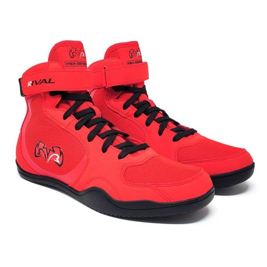 Rival RSX Genesis 2.0 Boxing Boots - Red