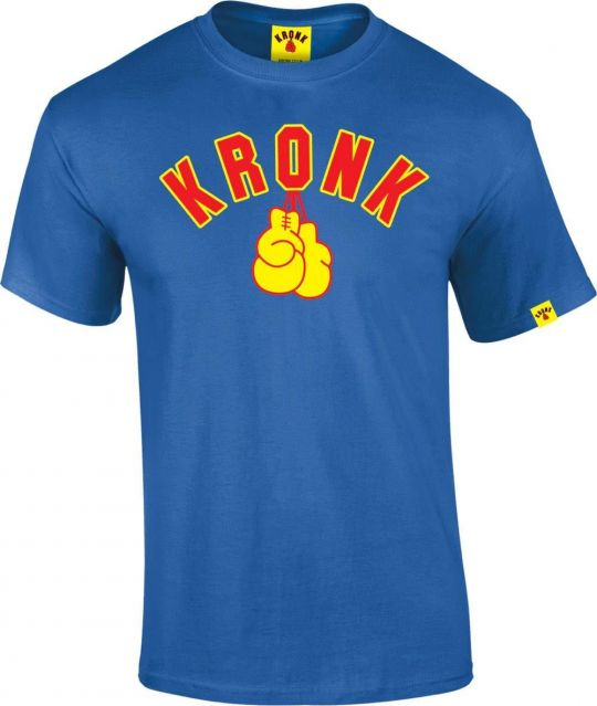Kronk Gloves T-Shirt - Blue