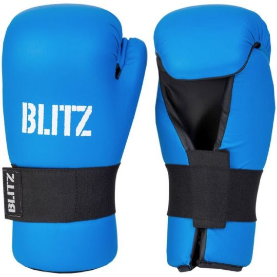 Blitz Semi Contact Pointfighter Gloves - Blue - XLarge