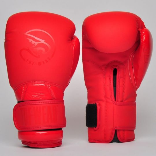Tuf Wear Atom Boxing Gloves - Red