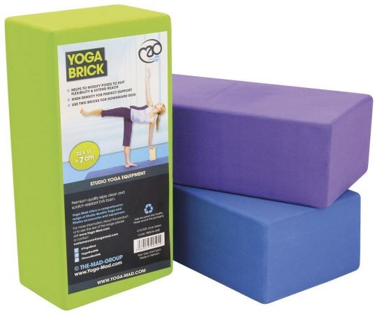 Fitness Mad High Density Yoga Brick