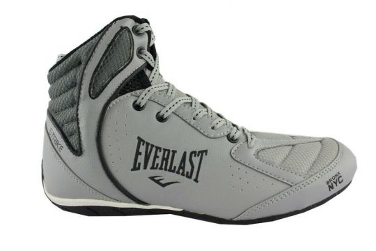 Everlast Strike Boxing Boots - Grey