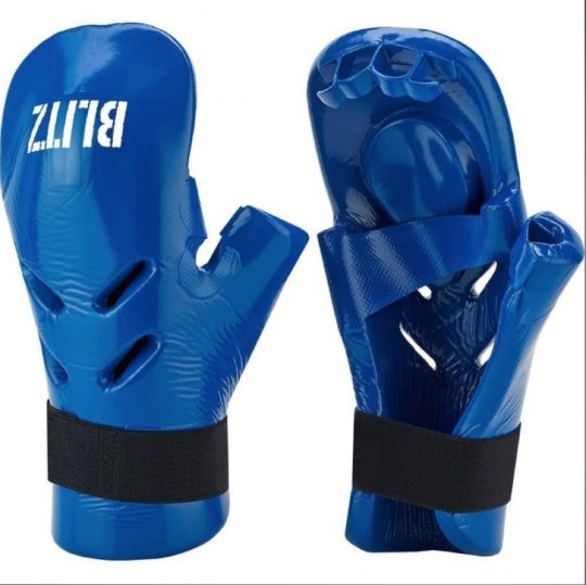 Blitz Dipped Foam Punch Mitts - Blue - XSmall