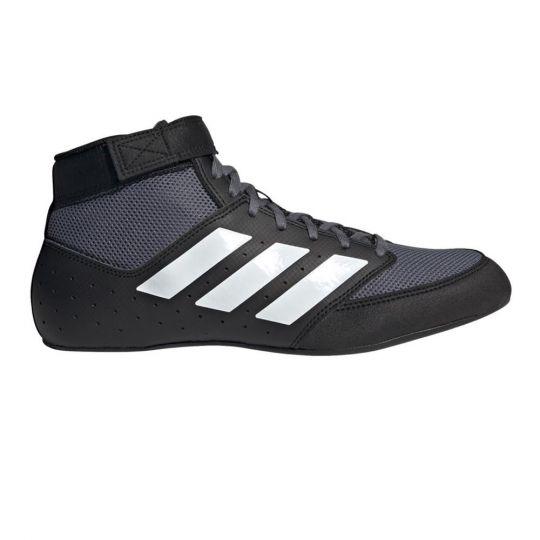 Adidas Mat Hog 2.0 Wrestling Boots - Black/White