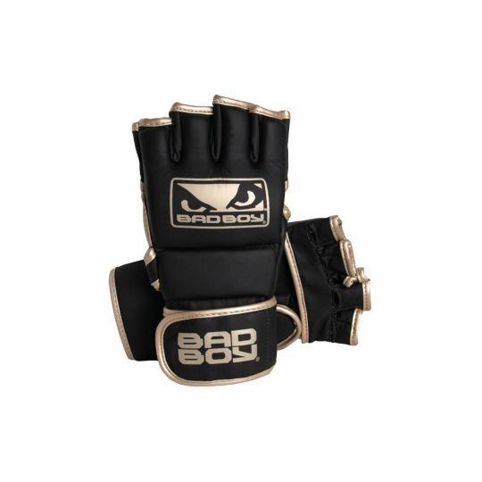 Bad Boy MMA Fight Gloves - Black/Gold