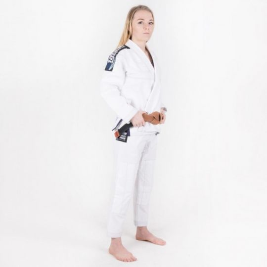 Tatami Ladies Ultralite BJJ Gi - White - F1