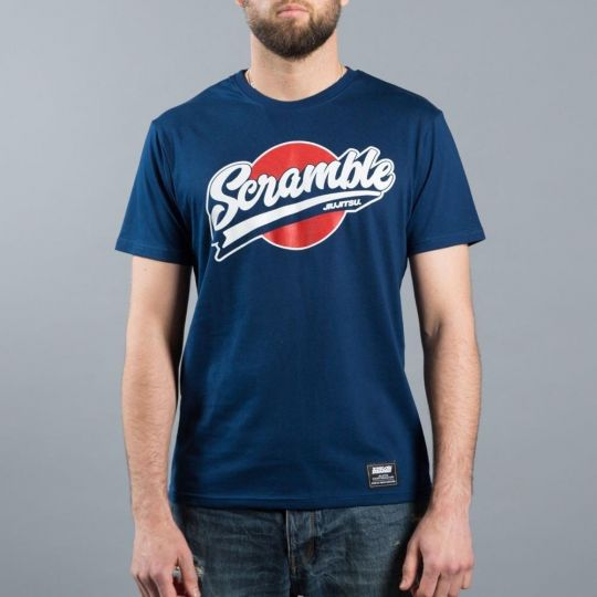 Scramble Training T-Shirt - Blue - XXLarge