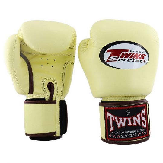Twins Boxing Gloves - Vanilla