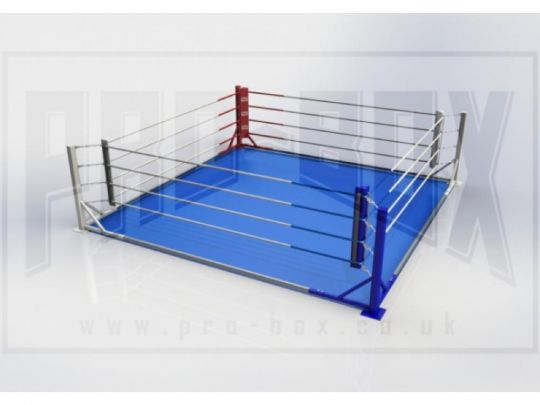 Pro Box Floor Fixed Boxing Ring - Please Contact Us For Shipping Costs