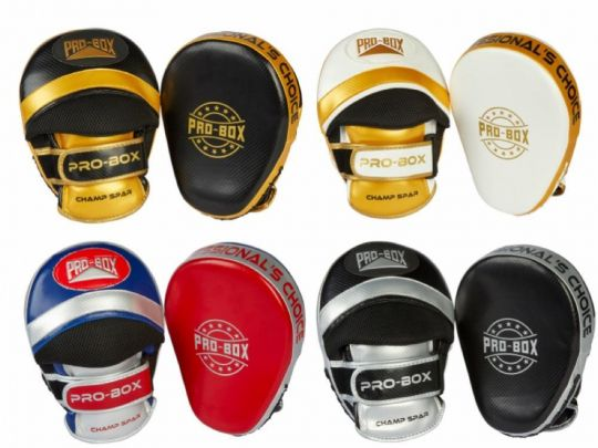 Pro Box Champ Curved Focus Pads