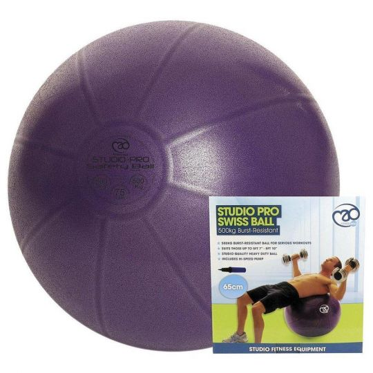 Fitness Mad 500kg Yoga Ball With Pump