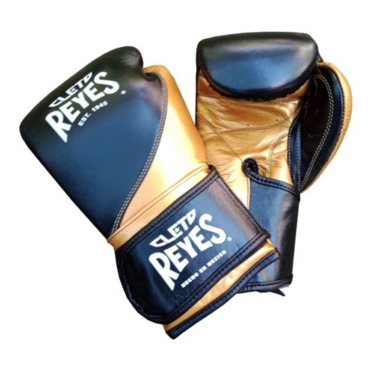 Cleto Reyes High Precision Boxing Gloves - Black/Gold