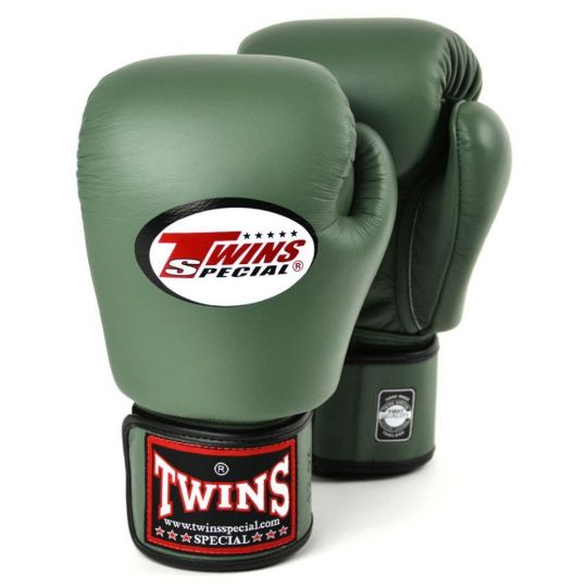 Twins Boxing Gloves - Military Green