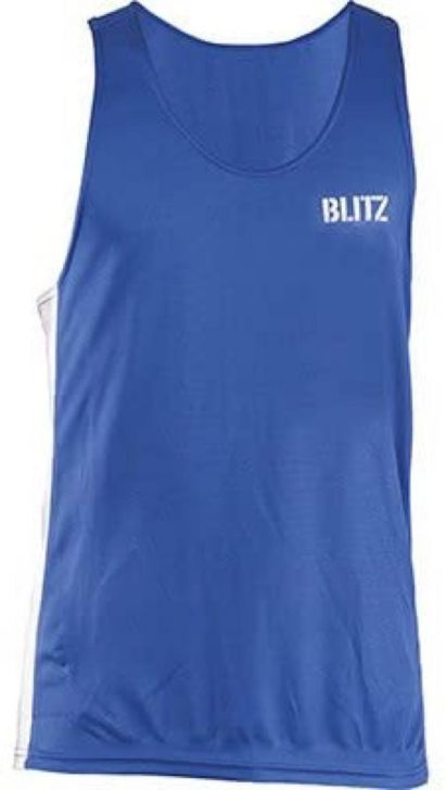 Blitz Adult Boxing Vest - Blue - Medium