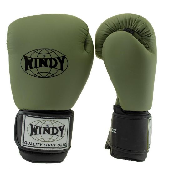 Windy Classic Boxing Gloves - Khaki