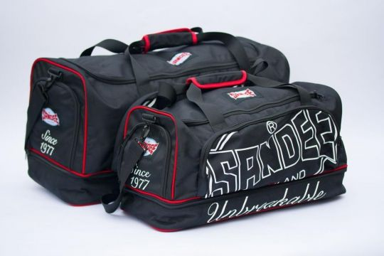 Sandee Heavy Duty Holdall - Black/Red