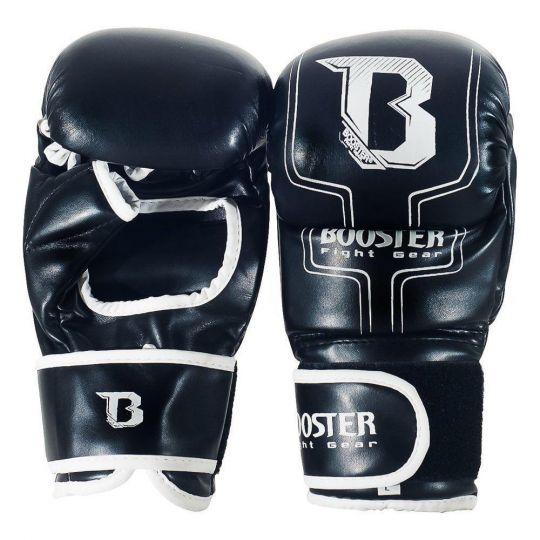 Booster MMA Sparring Gloves - Black/White