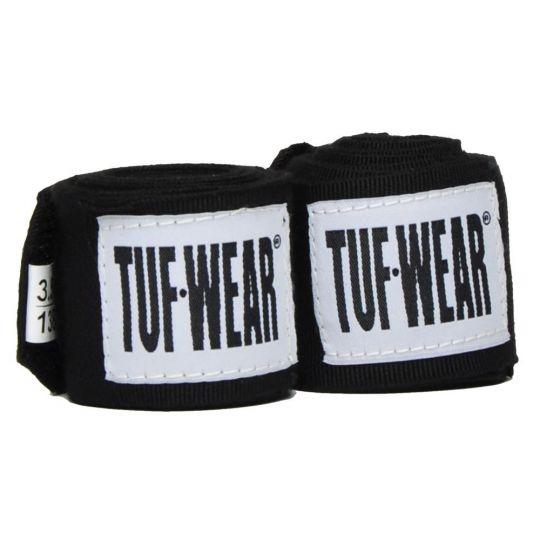 Tuf Wear Boxing Hand Wraps - Black - 2.5m