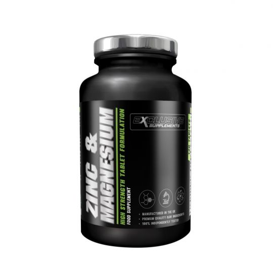 Exclusive Supplements Zinc & Magnesium