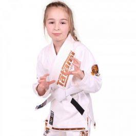 Tatami Meerkatsu Kids Animal Gi - White