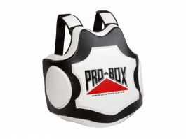 Pro Box Hi Impact Coaches Body Protector - Black/White