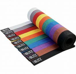 Blitz Plain Coloured Karate Belt