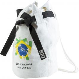 Blitz Sport Brazilian Jiu Jitsu Discipline Duffle Bag - White