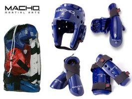 Kids Macho Dyna Combat Kit - Blue