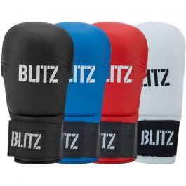 Blitz Elite Karate Gloves Mitts Without Thumb