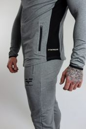 Gym Freak Mens Active Joggers - Grey