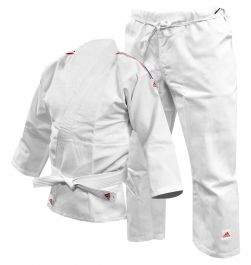 Adidas Judo Uniform - White
