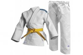 Adidas Kids Club Judo Uniform - White 350g