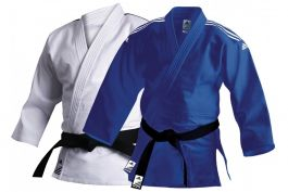 Adidas J500 Training Judo Uniform Blue or White 500g