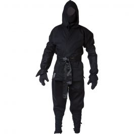 Blitz Sport Adult Ninja Suit Black