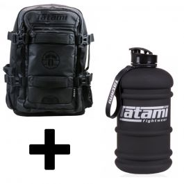 Tatami Omega Backpack With Tatami Water Bottle
