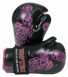 Top Ten Pointfighter Gloves - Flowers
