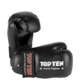 Top Ten Pointfighter Gloves - Black