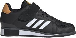 Adidas Power Perfect III Weightlifting Boots - Black/White