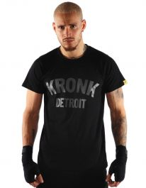 Kronk Detroit T-Shirt - Black/Charcoal