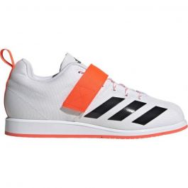 Adidas Powerlift 4 Weightlifting Boots - White/Black