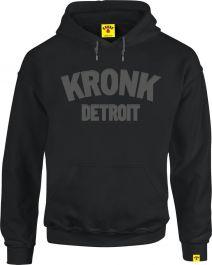 Kronk Detroit Applique Hoodie - Black