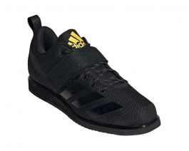 Adidas Powerlift 4 Weightlifting Boots - Black/Gold