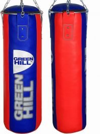Green Hill 4FT Punch Bag - Blue/Red