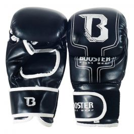 Booster MMA Sparring Gloves - Black/White