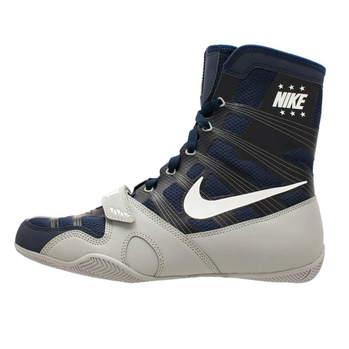 local Prisionero de guerra Milagroso  Nike Hyper KO Boxing Boots - Navy/Silver | Nike Boxing Shoes | Fight  Equipment UK Official Retailer For Nike Boxing